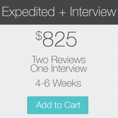 2 Expedited Reviews and Inteview
