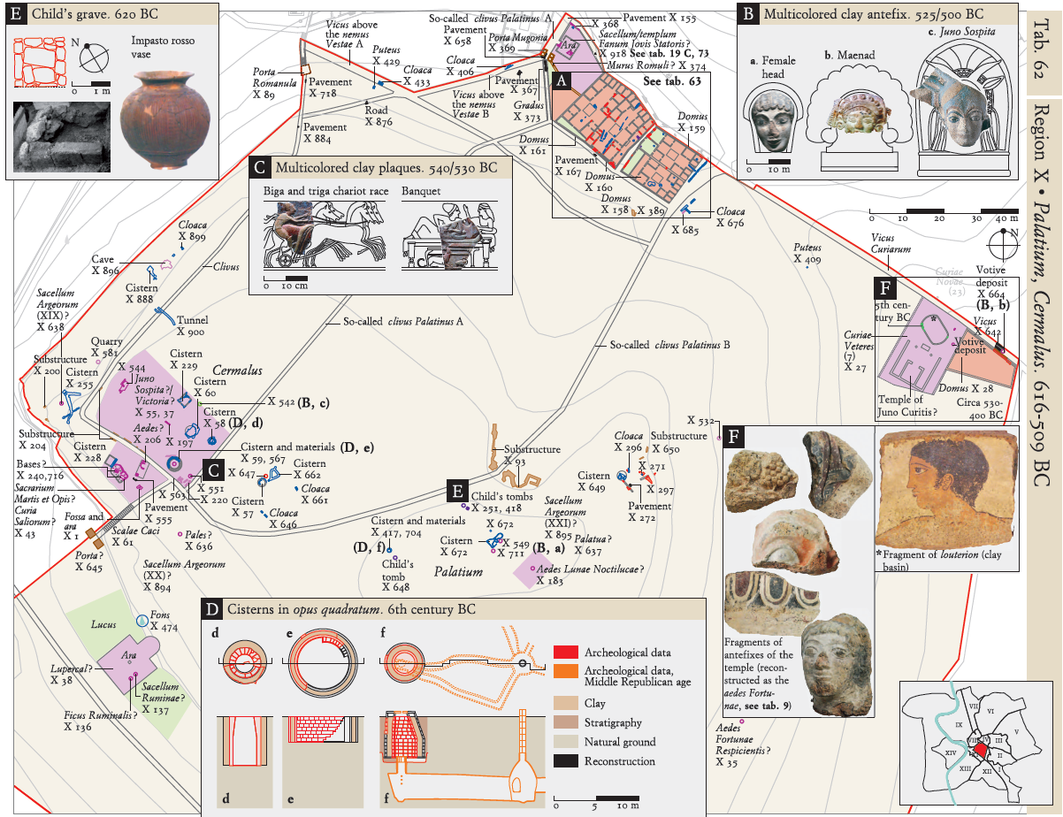 The Atlas Of Ancient Rome Biography And Portraits Of The