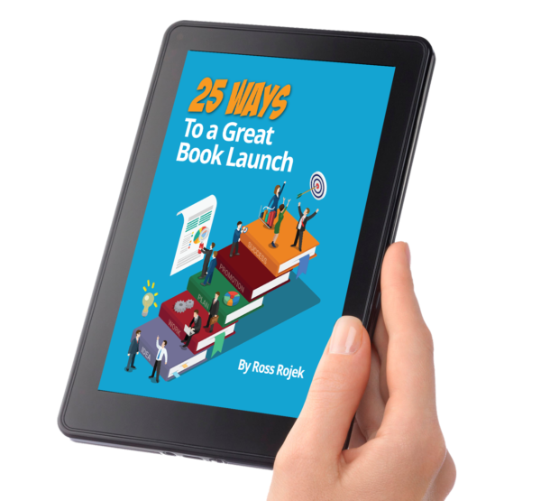 25 Ways to a Great Book Launch Cover