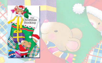 The Christmas Stocking (Mini People Shape Books)