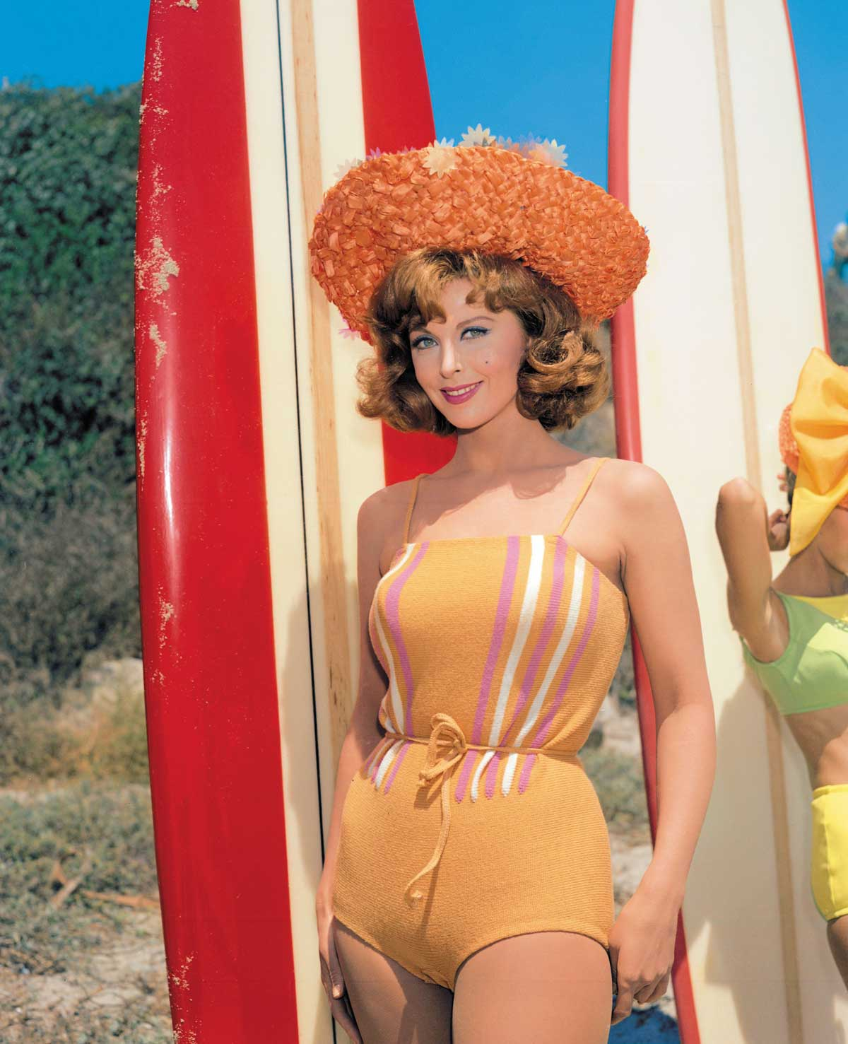 Tina-Louise-as-Topaz-McQueen-in-For-Those-Who-Think-Young,-1964