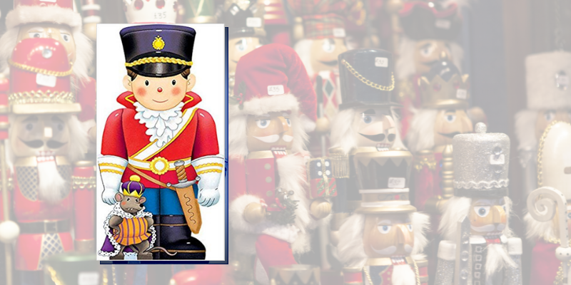 The Nutcracker (Mini People Shape Books)