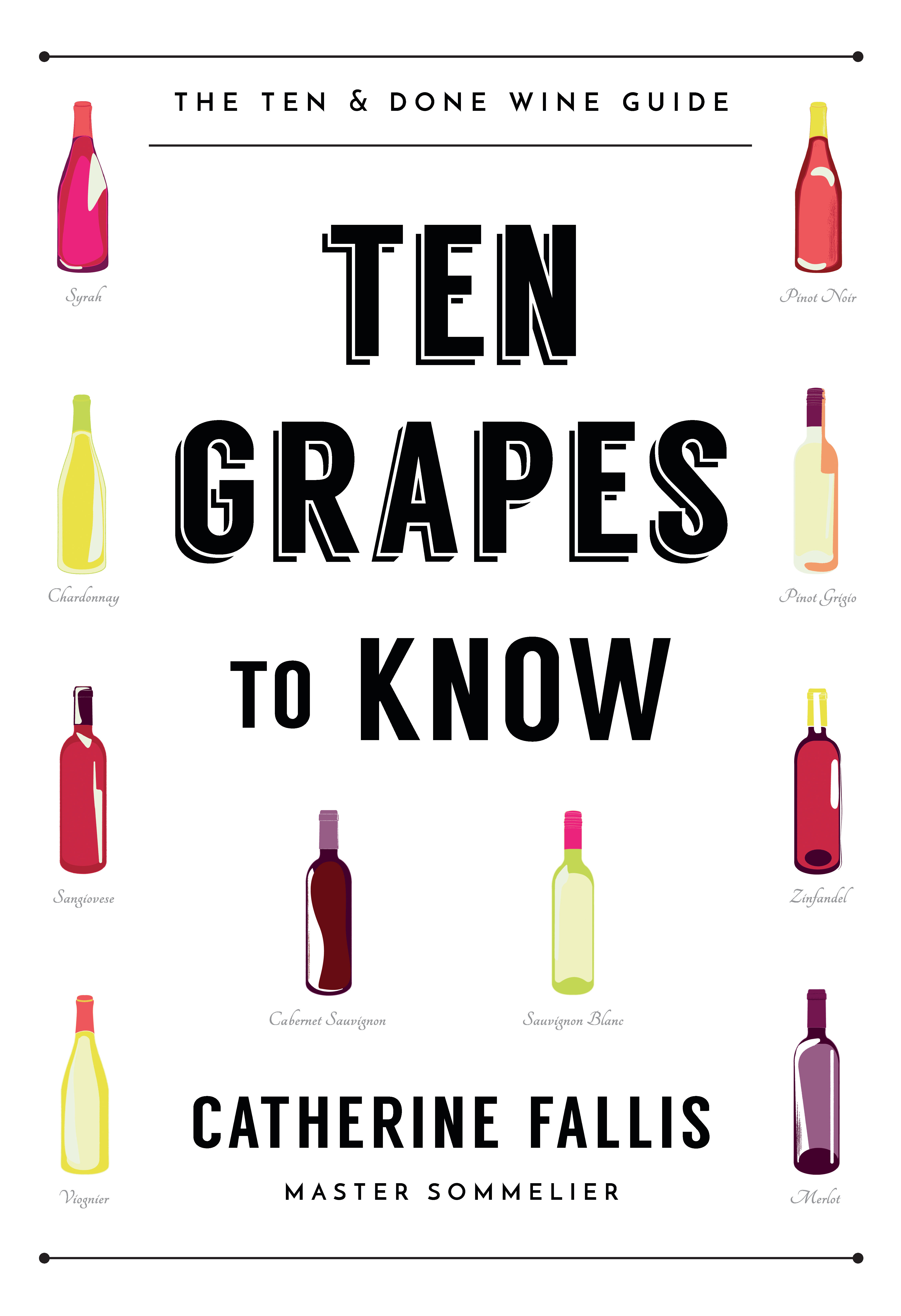 Ten Grapes to Know Cover