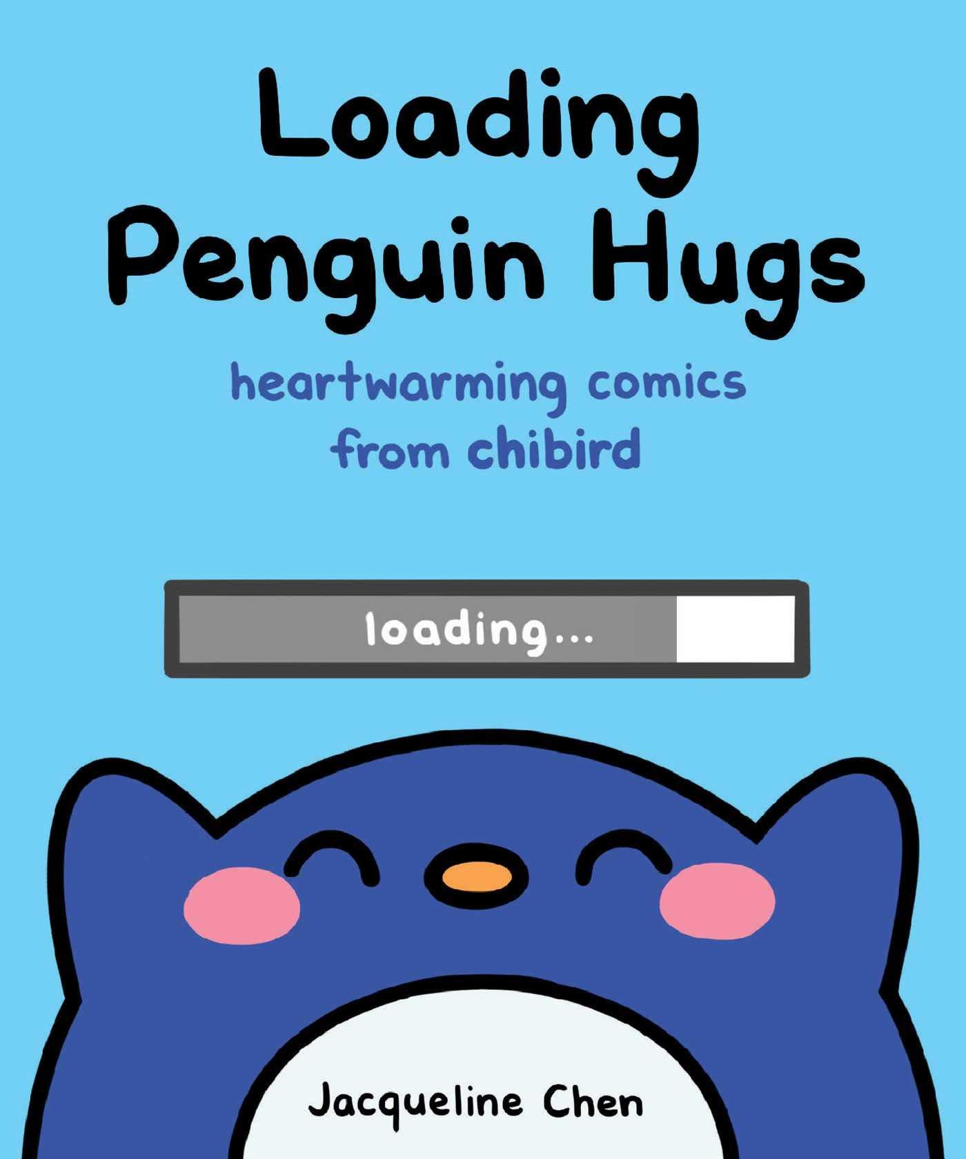 loading penguin hugs-cover