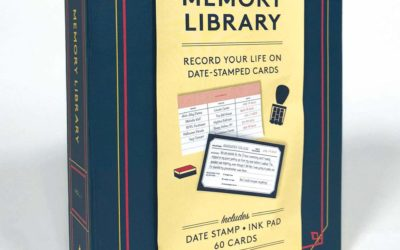 Memory Library (Kit): Record Your Life on Date Stamped Cards