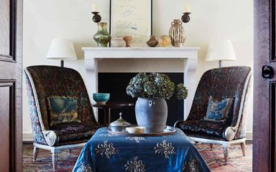 A Romance of East and West: Interiors by Mona Hajj