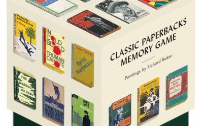 Classic Paperbacks Memory Game