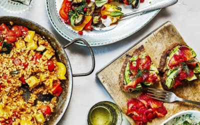 One Pan Pescatarian: Delicious Veggie, Vegan and Fish Dinners